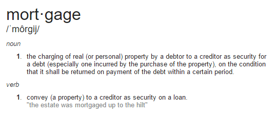 Mortgage marketing definition