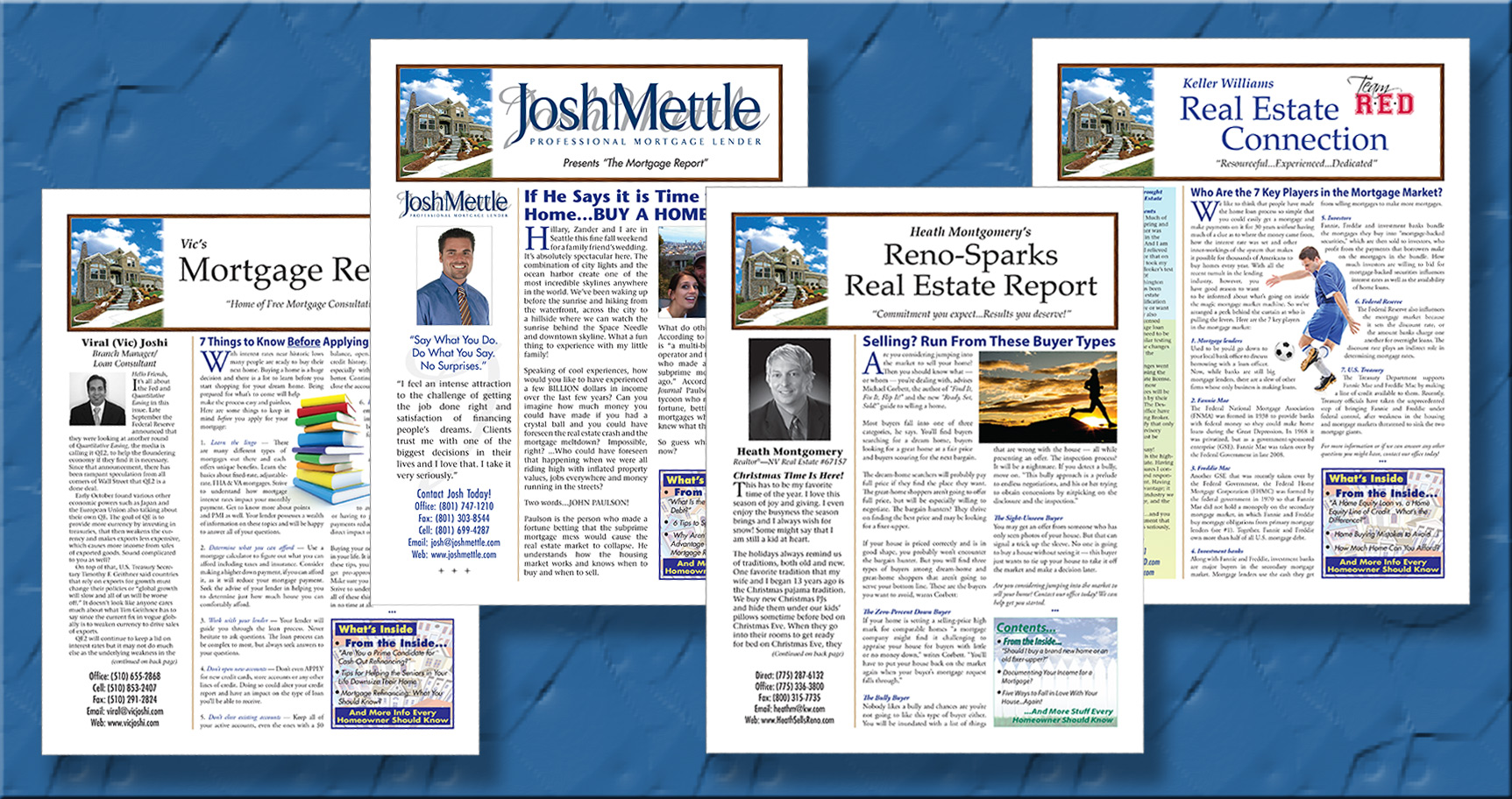 Mortgage Newsletters for mortgage marketing